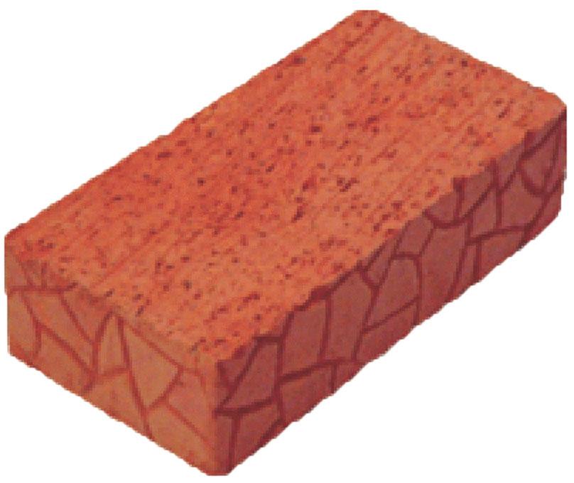 Красный, полнотелый печной кирпич, ревда