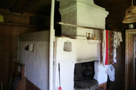Старая русская печь