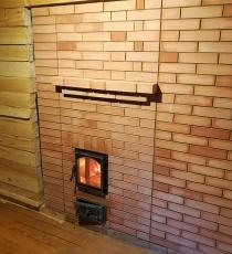 Банная печь со стеклянной дверкой