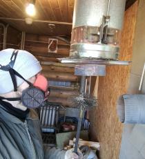 Услуги по чистке печей каминов дымоходов