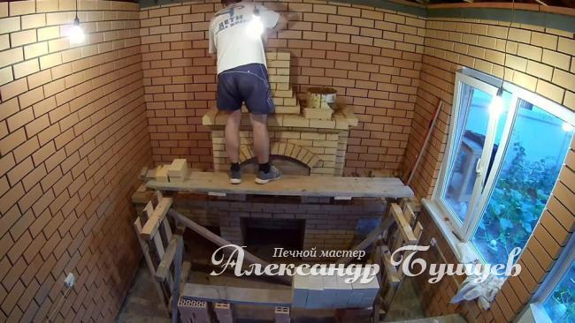 Кладка печей каминов барбекю Челябинск