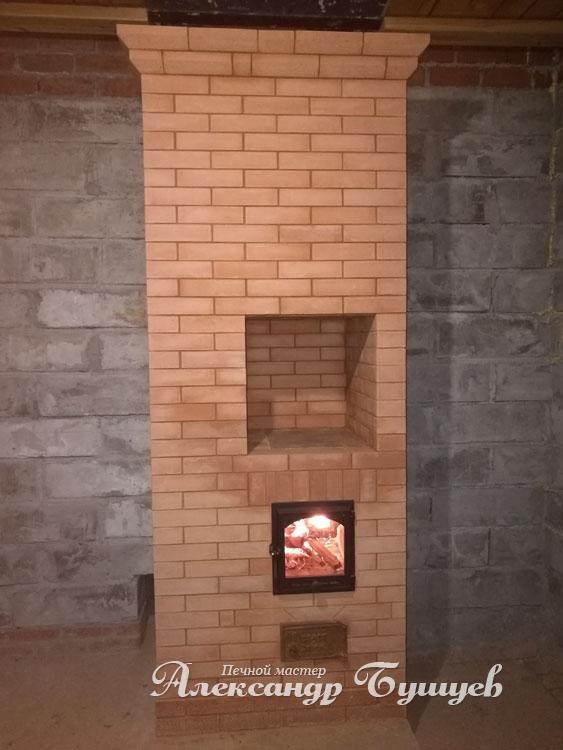Двухколпаковая печь И. Кузнецова